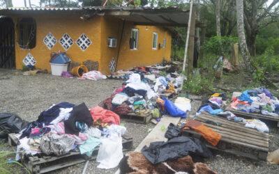 Inundaciones en Costa Arriba de Colon