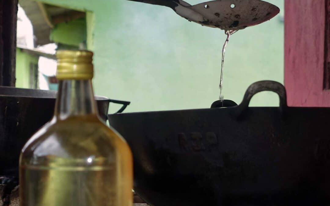 Aceite de Coco Tradicional (la extraccion)