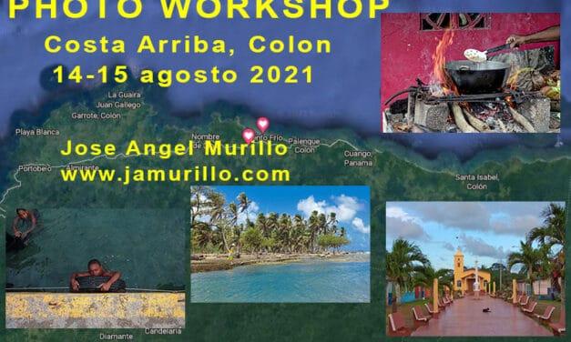 Workshop Costa Arriba Colon agosto 2021